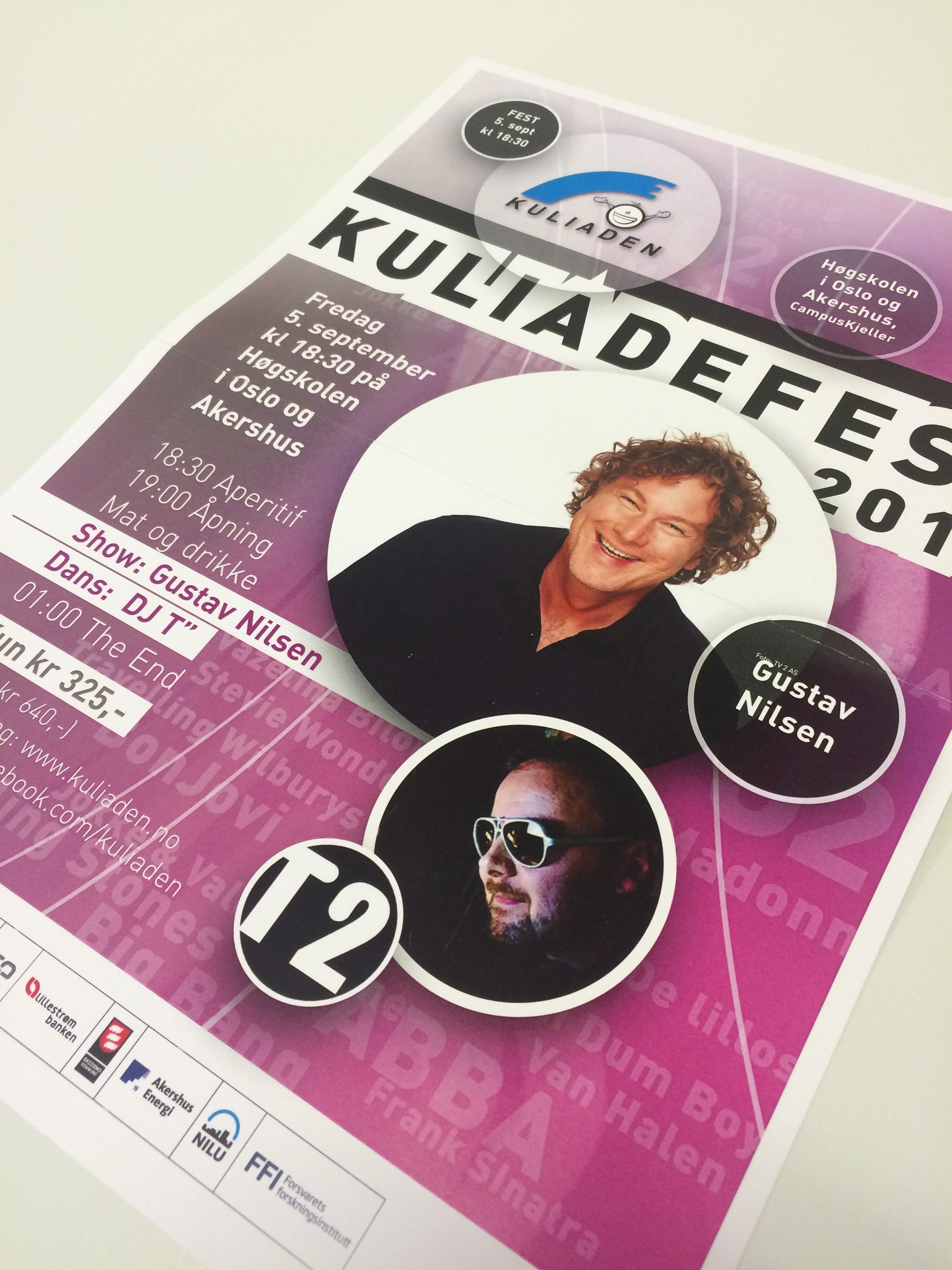 Plakat for Kuliaden, Kunnskapsbyen Lillestrøm